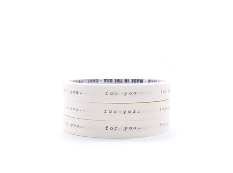 For you - Message Masking Tape