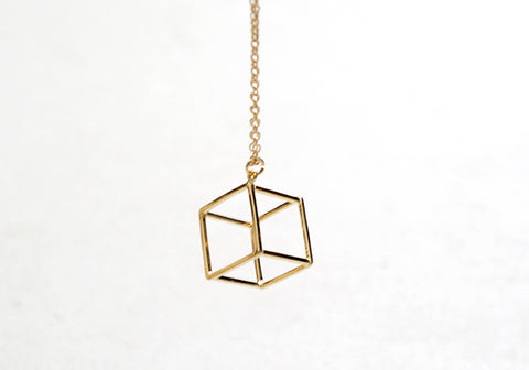Cube Necklace