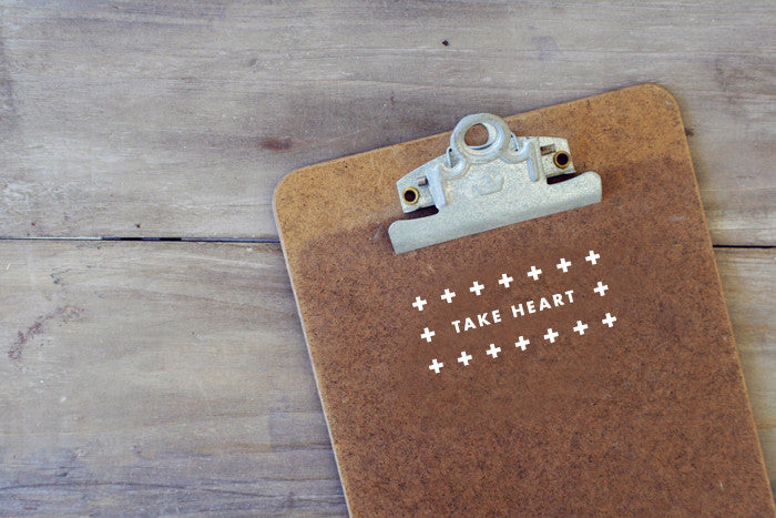 Take Heart Decal