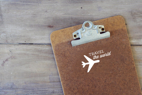 Travel the World Decal