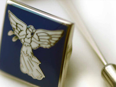 Lapel pins and cuff links