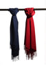 Pashmina Wraps come in navy or red