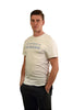 White short sleeve t shirt (mens)