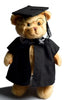 Graduation bear soft toy - Front
