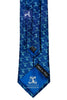 Blue Winged Victory woven tie with Diamond Weave