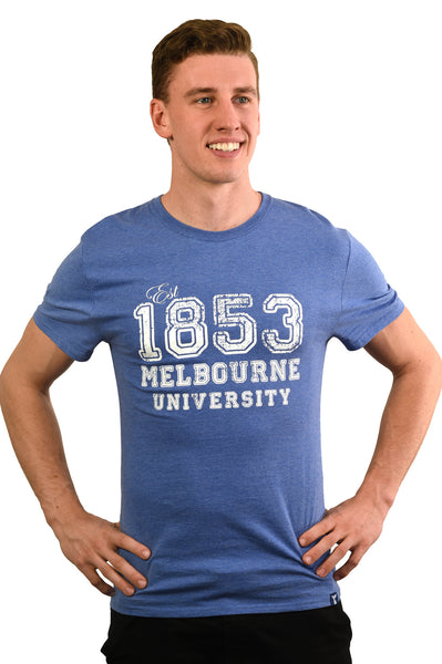 Denim Blue '1853' short sleeve t shirt (Mens) - front