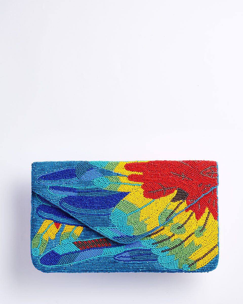Handbeaded Clutch (Joseph and the Amazing Technicolour Dreamcoat)