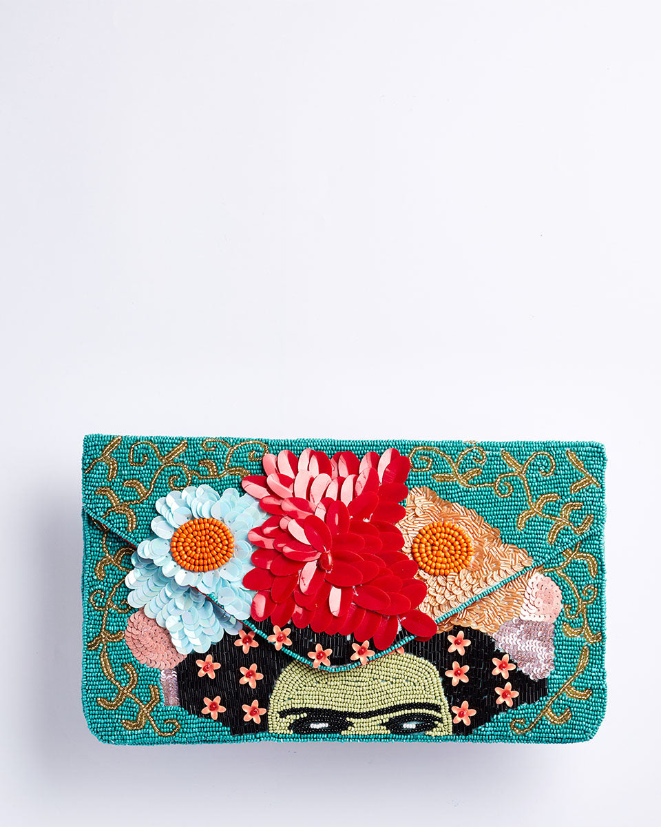 Handbeaded Clutch (Frida Frida Frida)