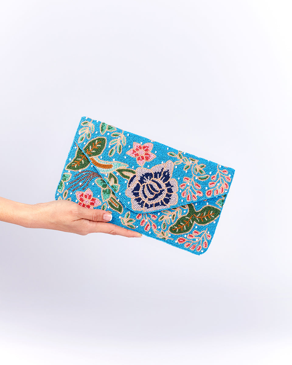Handbeaded Clutch (Nyonya Batik)