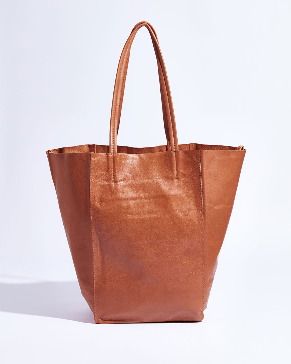 My Everyday Tote (Caramel Tan)