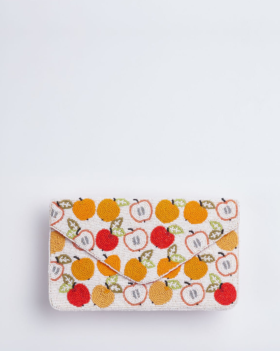Handbeaded Clutch (Apple Television)
