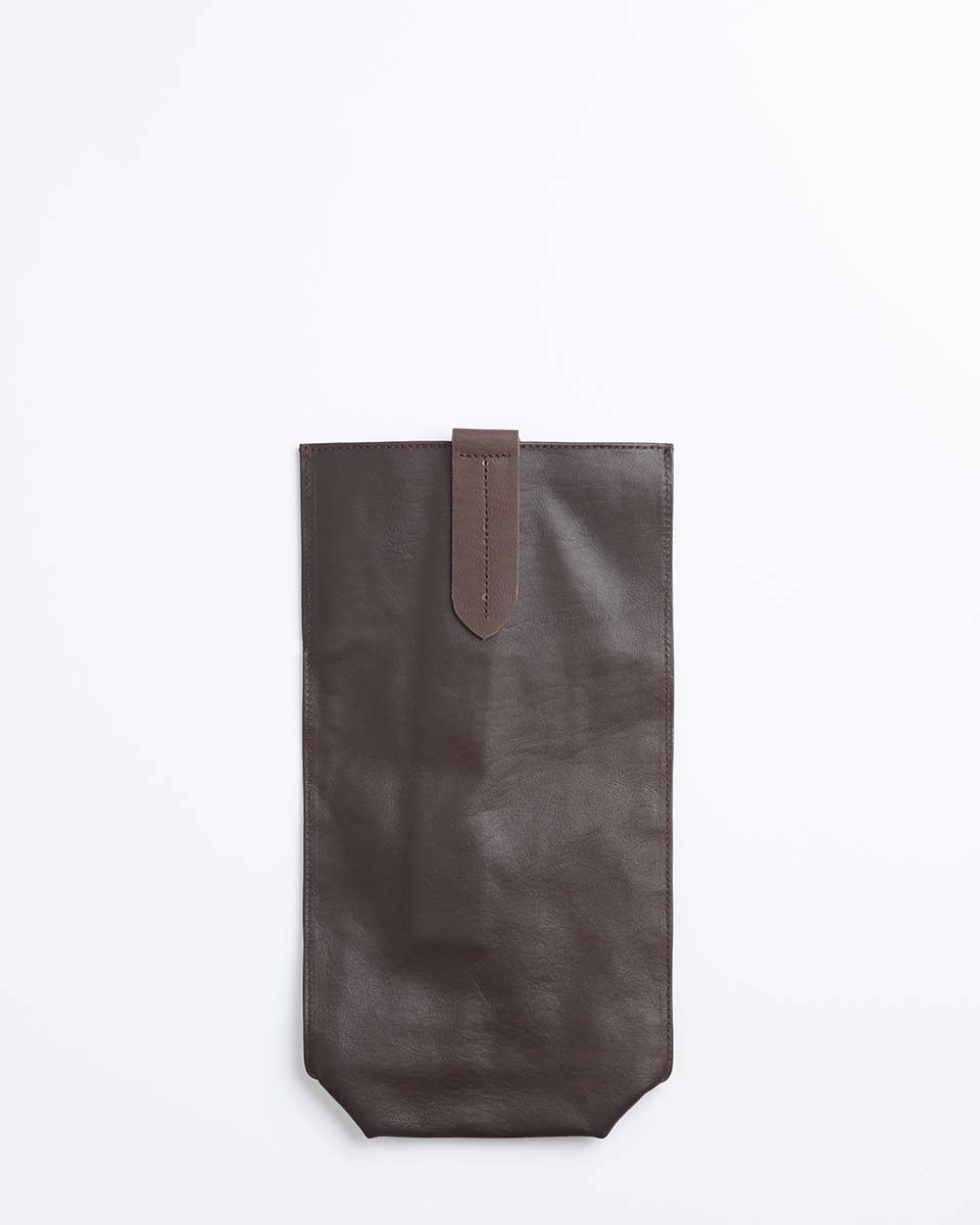 In Vino Veritas Wine Bag (Brown)