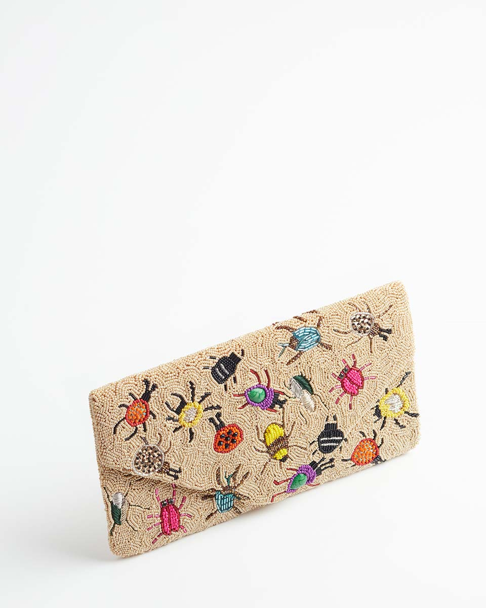 Handbeaded Clutch (Creepy Crawlies)