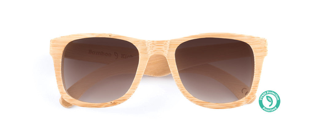 Wooden Sunglasses - KICKER ▴ BAMBOO
