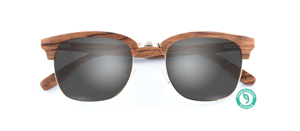 Wooden Sunglasses - MERAKI ▴ EBONY