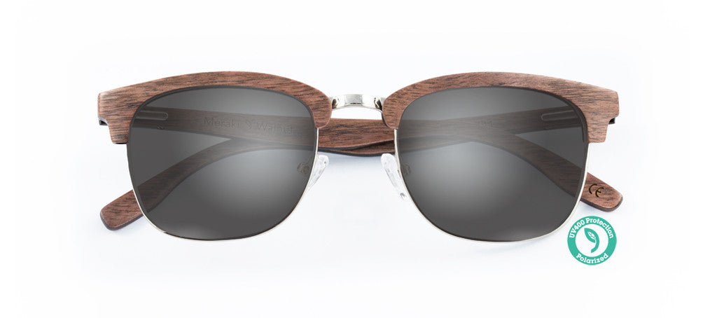 Wooden Sunglasses - MERAKI ▴ WALNUT