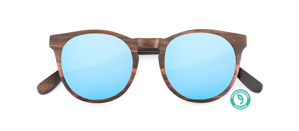 Wooden Sunglasses - LUCY ▴ EBONY ▴ REVO