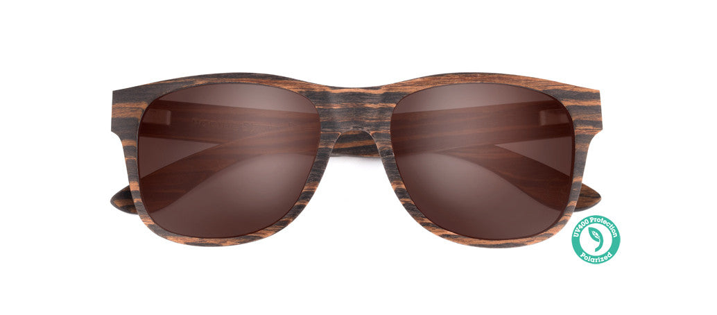 Wooden Sunglasses - TALLOW ▴ PACIFIC EBONY