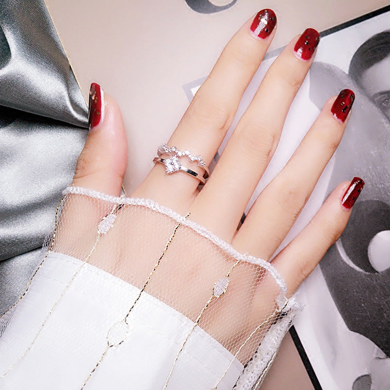 Double Row Fashion Rings