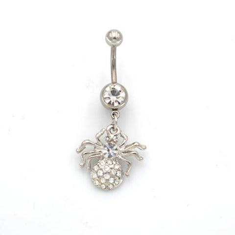 Cute Tatu Spider Belly Button Rings - TSZjewelry