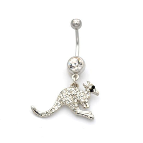 Kangaroo Belly Button Rings