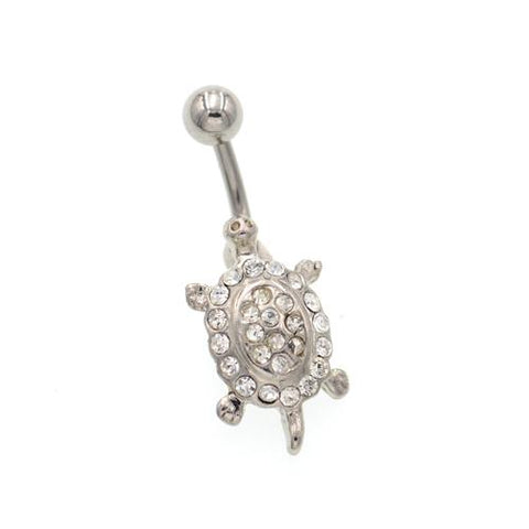 Non Dangling Tortoise Belly Button Rings - TSZjewelry