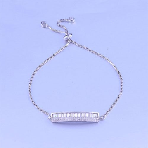 Piano Adjustable Silver Bracelet - TSZjewelry