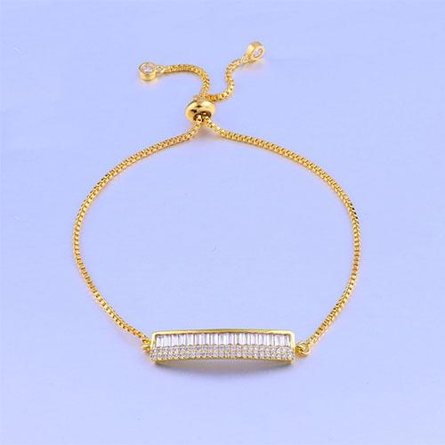 Piano Adjustable Gold Bracelet - TSZjewelry