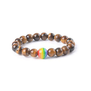 Rainbow Tiger Eye Bracelet - TSZjewelry