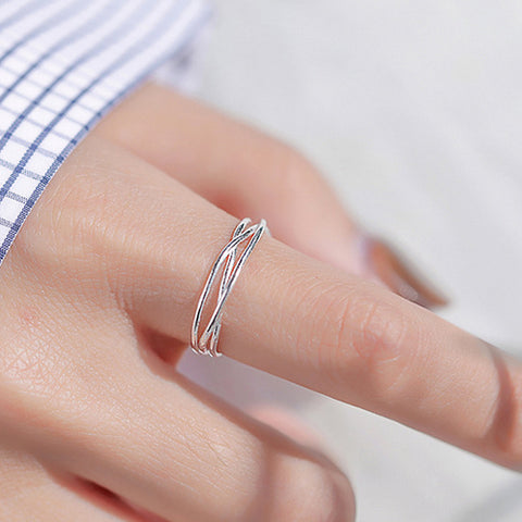 Wire Twisted Fashion Ring - TSZjewelry
