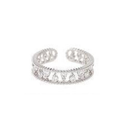 Double Rope Eternity Fashion Ring - TSZjewelry