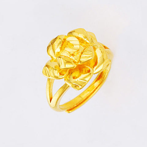 Copy 3D Rose Flower Fashion Ring - TSZjewelry