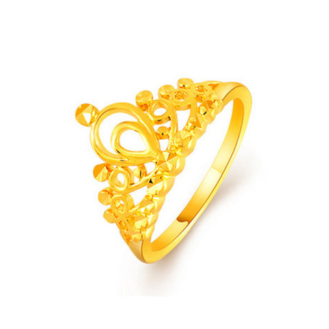 Golden Crown Ring - TSZjewelry