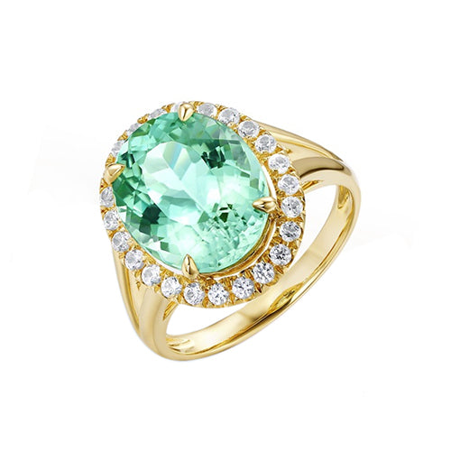 Oval Emerald Rings - TSZjewelry