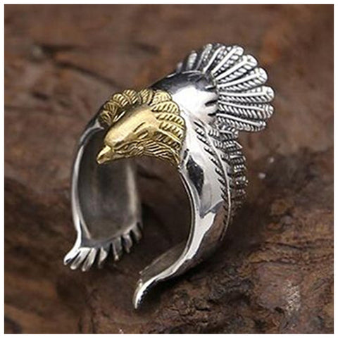 Dual Color Eagle Ring - TSZjewelry