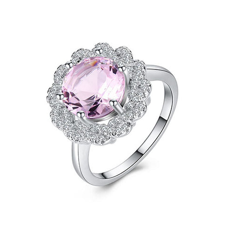 Amethyst Cocktail Ring - TSZjewelry