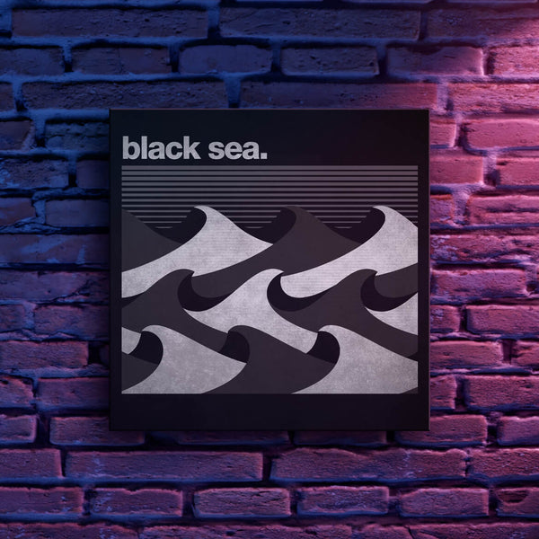 Black Sea EP Cover Canvas Print