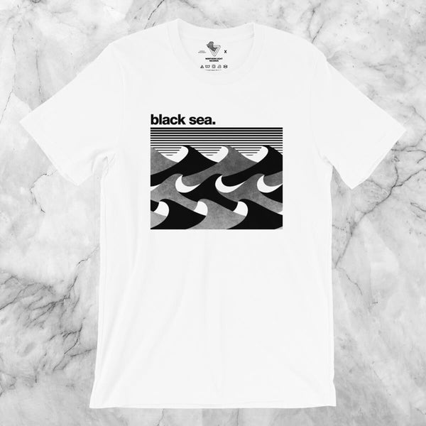 Black Sea - Negative Series Short-Sleeve Unisex T-Shirt