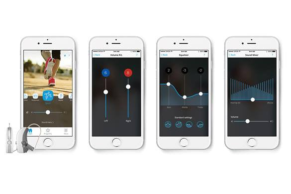 widex iphone hearing aids