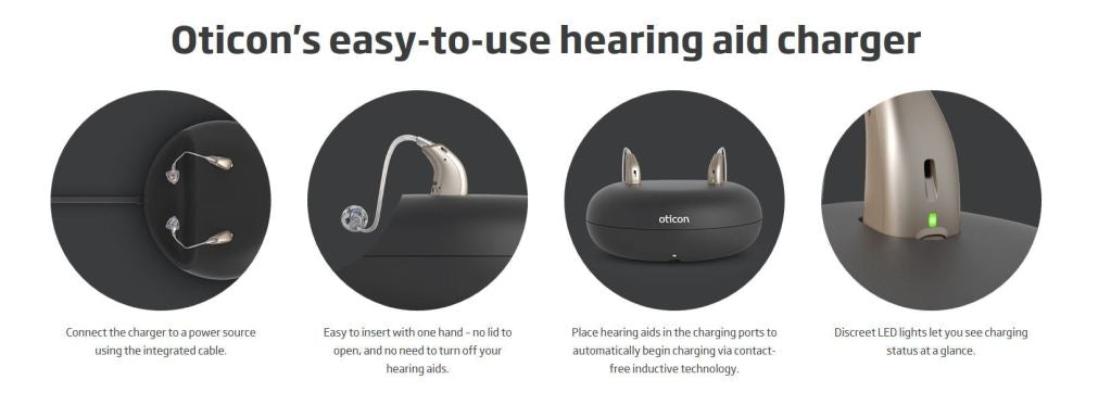 hearing aids charger