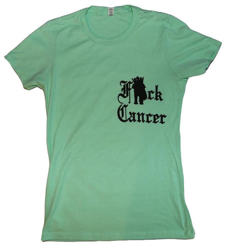 Womens F*ck Cancer Tee