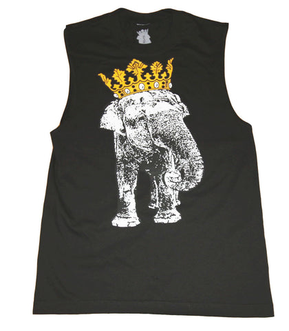 King Elephant Sleeveless Tee
