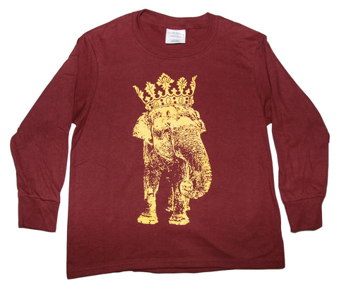 King Elephant Long Sleeve Tee