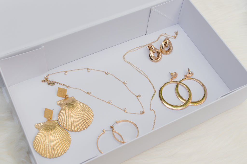 ete swimwear luxe gift boxes vintage jewellery