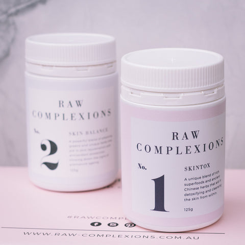 Raw complexions beauty food