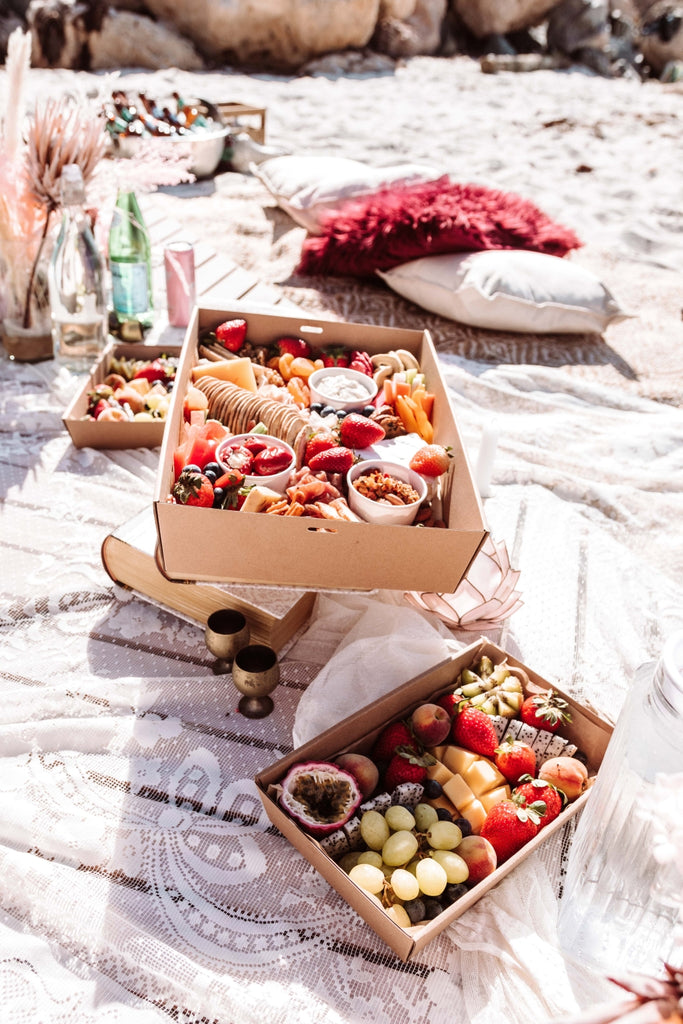 Ete Beach Picnic Graze Box by Grazing the Roof