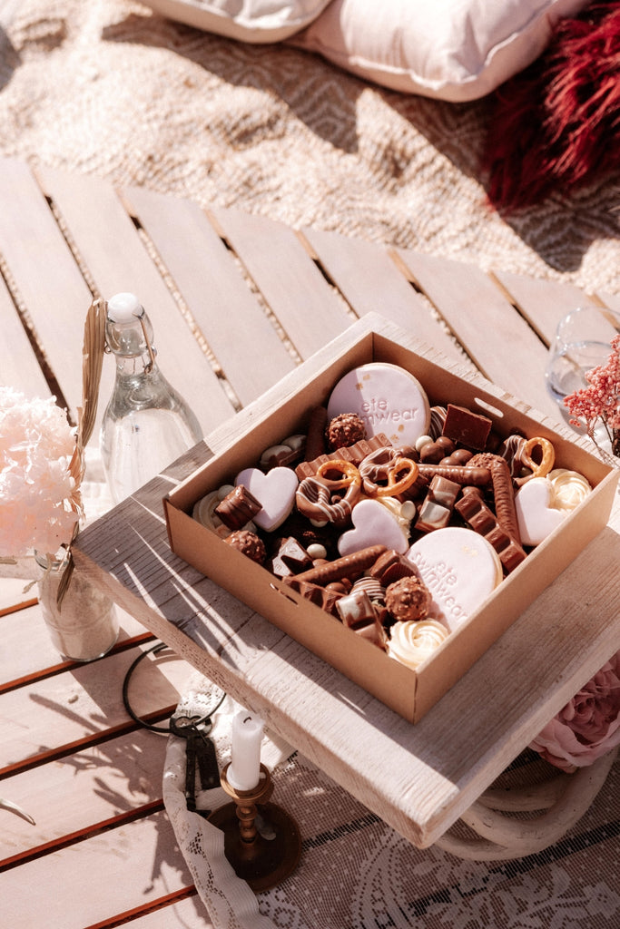Ete Beach Picnic Dessert Box by Graze And Glaze Perth