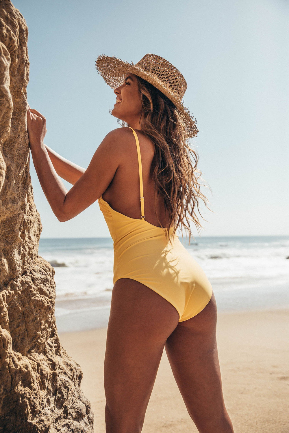 Positano Swimsuit - Lemon Drop Yellow