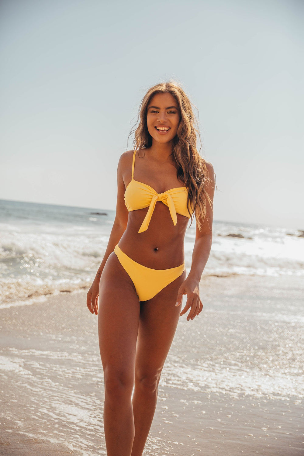 Praiano Bikini Top - Lemon Drop Yellow