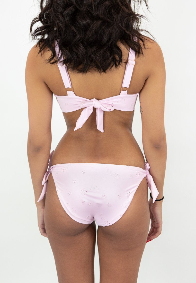 Coco Bottoms - Blush Embroidery